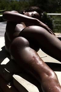 Model Naomi in Sun Deck