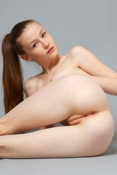 Model Emily in Crisp Nudes