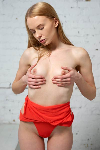 Model Kateryna in Introduction