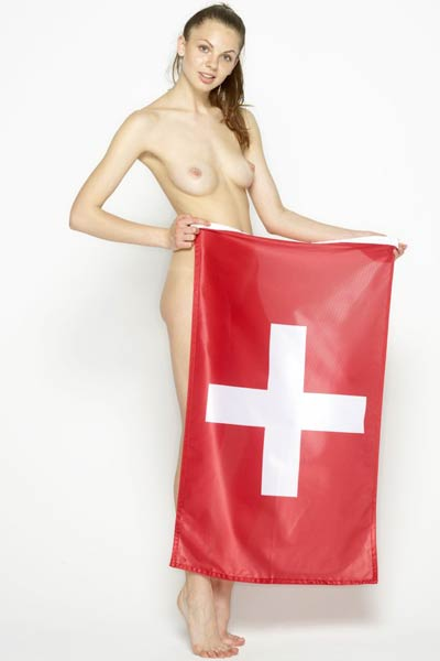Model Cindy in Swiss And Sexy