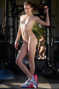 Model Anya in Erotic Art