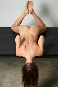 Model Veronika V in Table Top Nudes