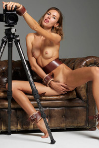 Model Alya in Nude Photographer