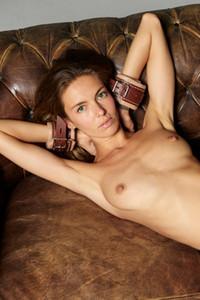 Model Alya in Ukrainian artist