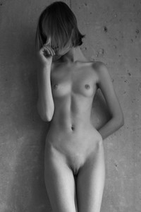Model Lotta in Nude At Home
